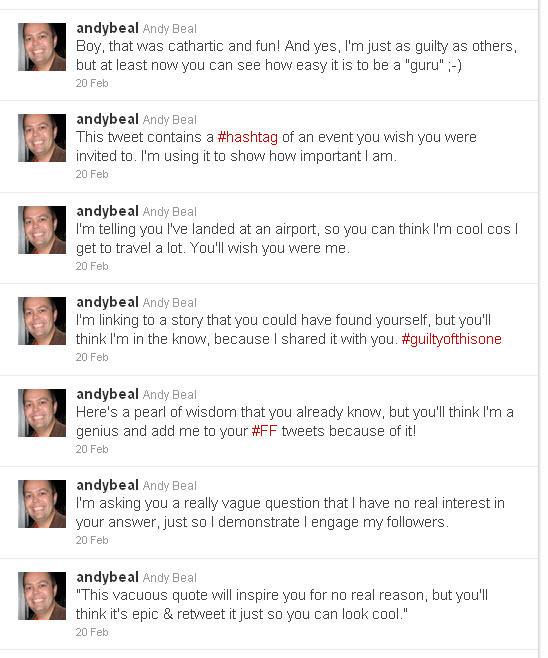 How to Be a Twitter Guru