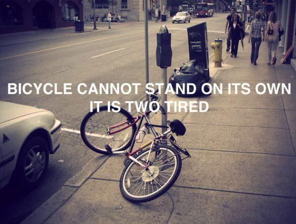 Two Tired Bicycle
