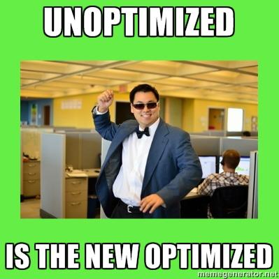 Under-Optimization