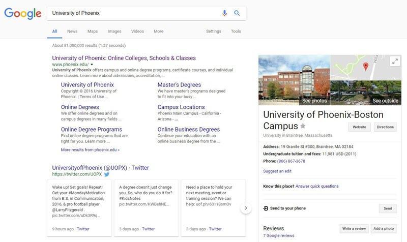 desktop branded searches vs. mobile