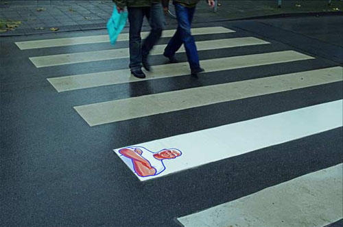 Urban Advertising Examples