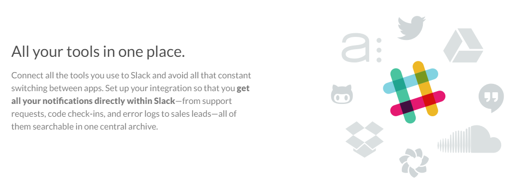 Value proposition examples Slack