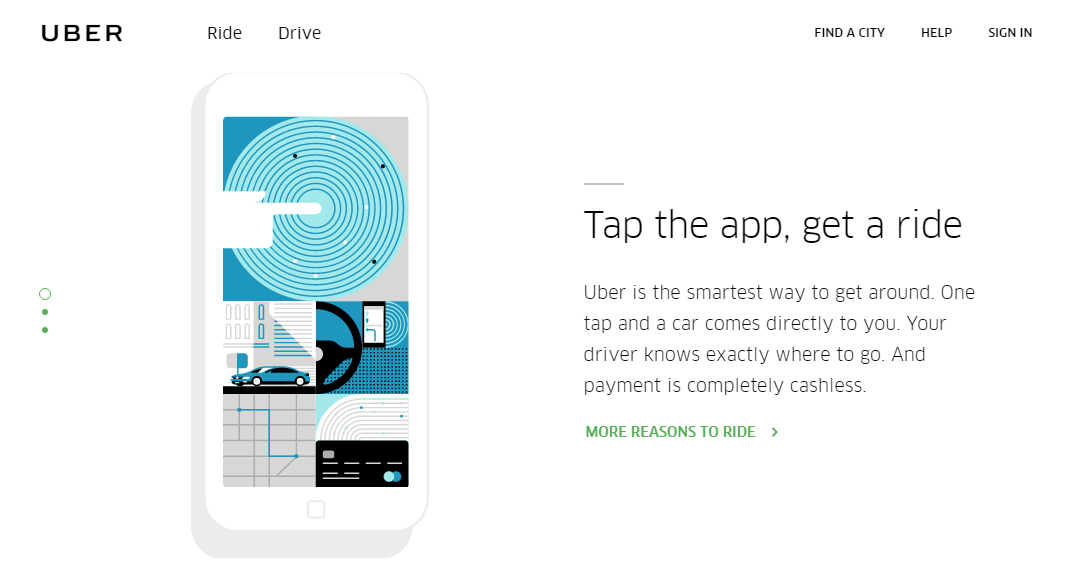 Value proposition examples Uber