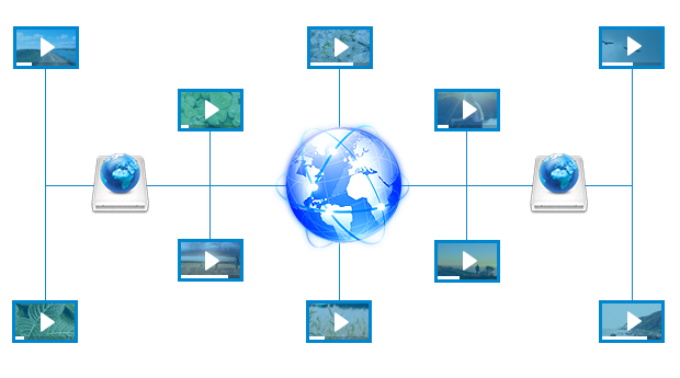 Video SEO video hosting concept