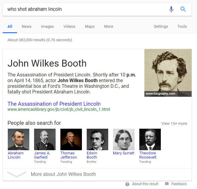 voice assistants and featured snippets