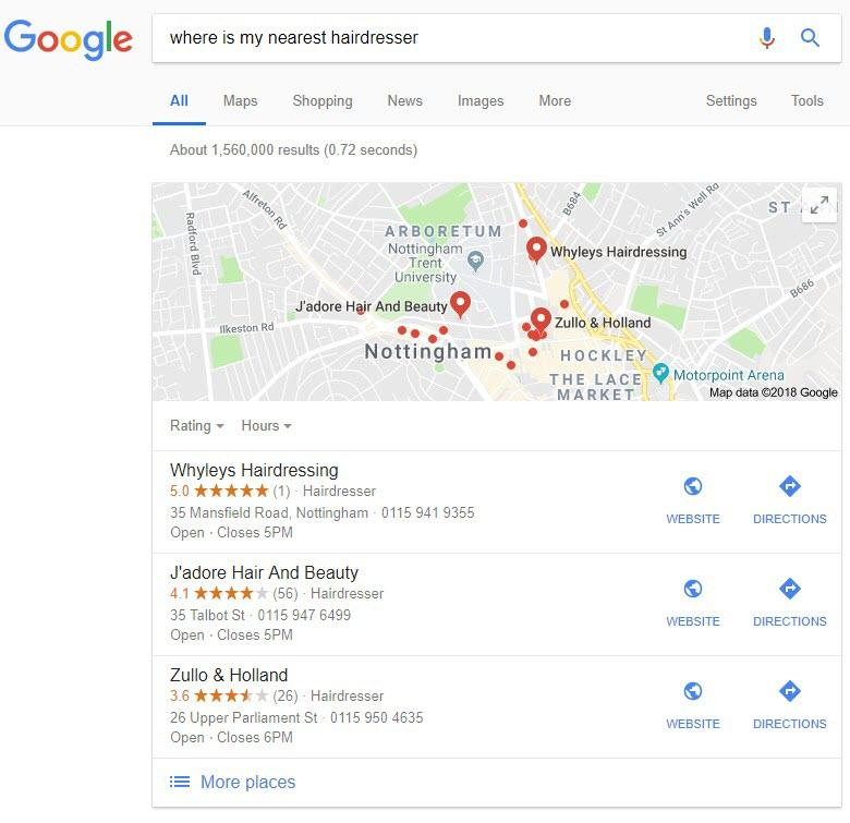 local seo for voice search
