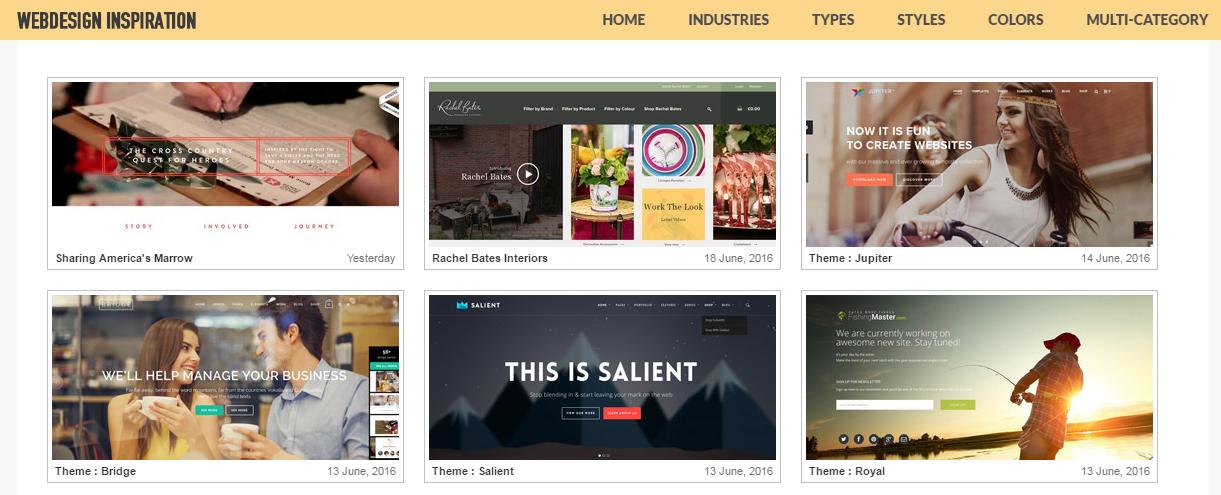 Web design inspiration Webdesign Inspiration