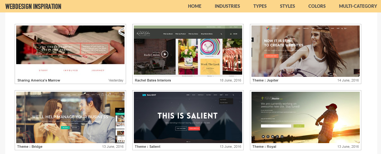 Website Design Inspiration: 8 Sites to Spark Your Creativity