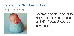Creepy Facebook Ad