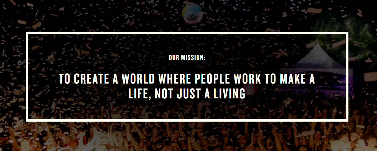 WeWork Mission Statement