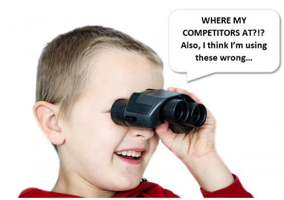 finding competitors in ppc