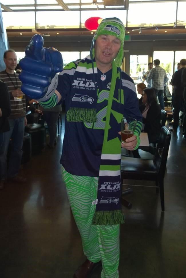 Bing Matt Lydon Seahawks fan