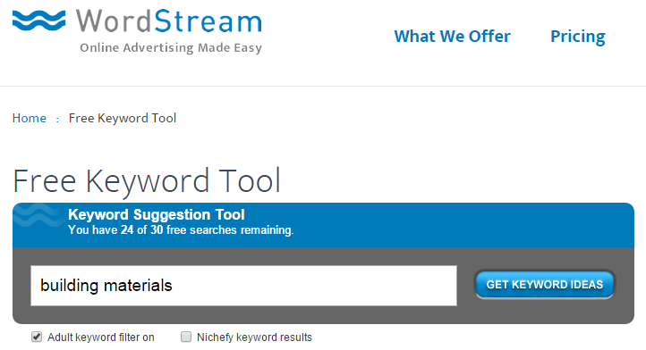 keyword traffic tools