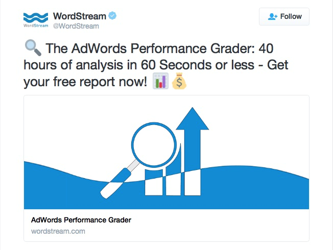 examples of twitter ads