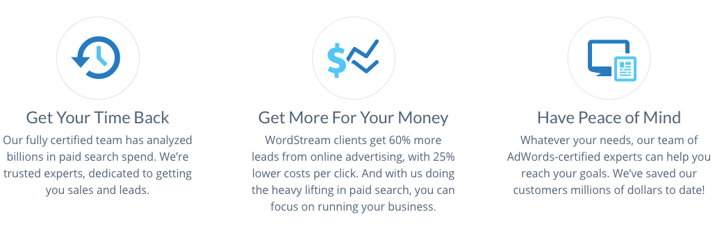 wordstream customer inspire marketing