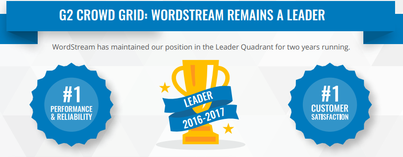 wordstream g2crowd reviews
