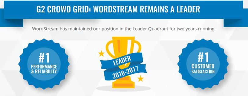 wordstream g2crowd reviews