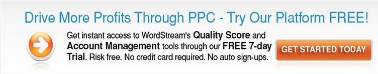 Try WordStream's PPC Tools