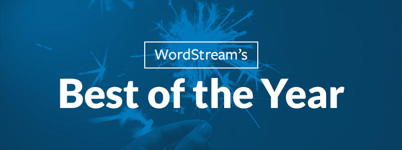 Best of the WordStream blog 2017 edition