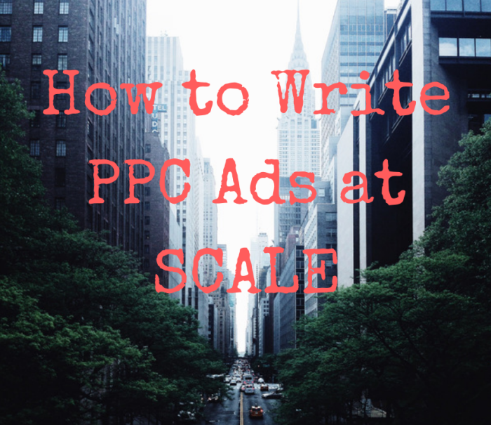 Writing Ad Copy at Scale