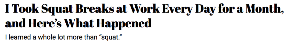Writing Time Management Headline 2