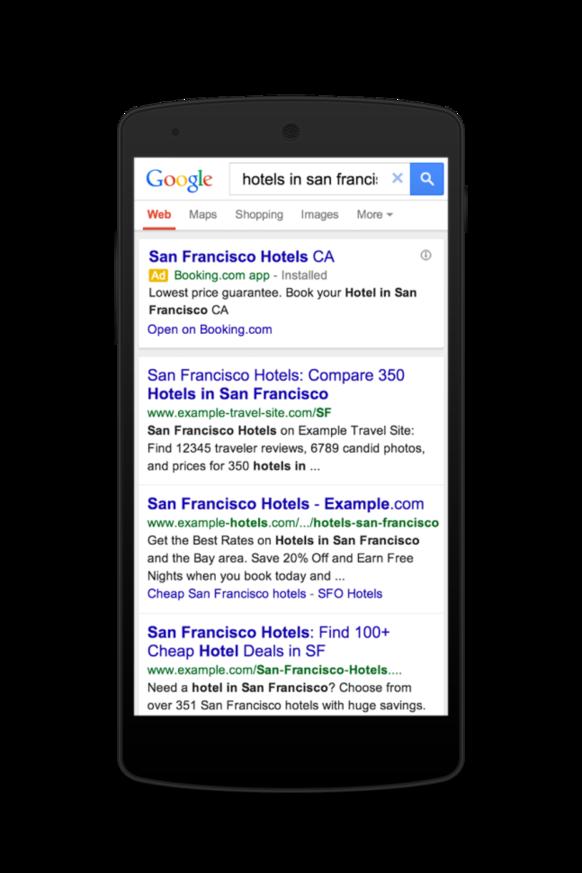 Google image search mobile app