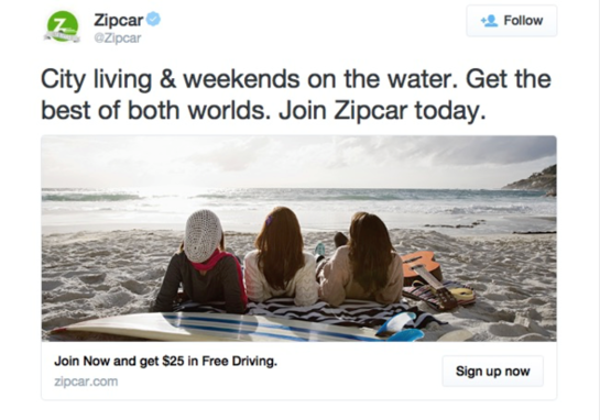 the greatest examples of twitter ads